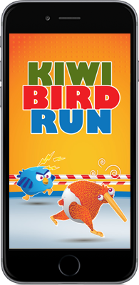 Kiwi Bird Run screenshot 1